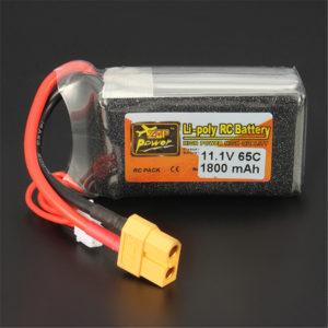 3S 65C 1800 mAh Lipo Battery