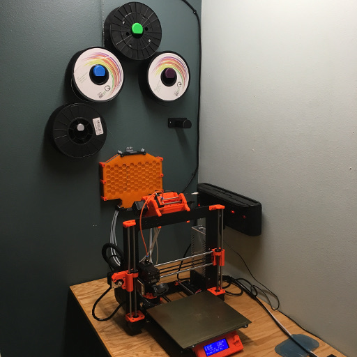 Wall Mounted Filament Buffer