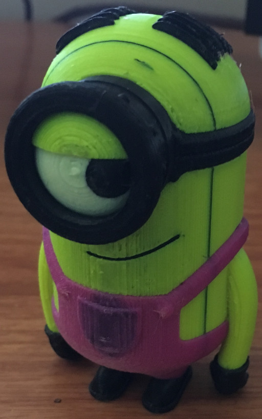 Stewart Minion - First successful large MMU2S print